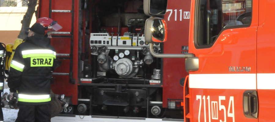 W weekend strażacy interweniowali 10 razy