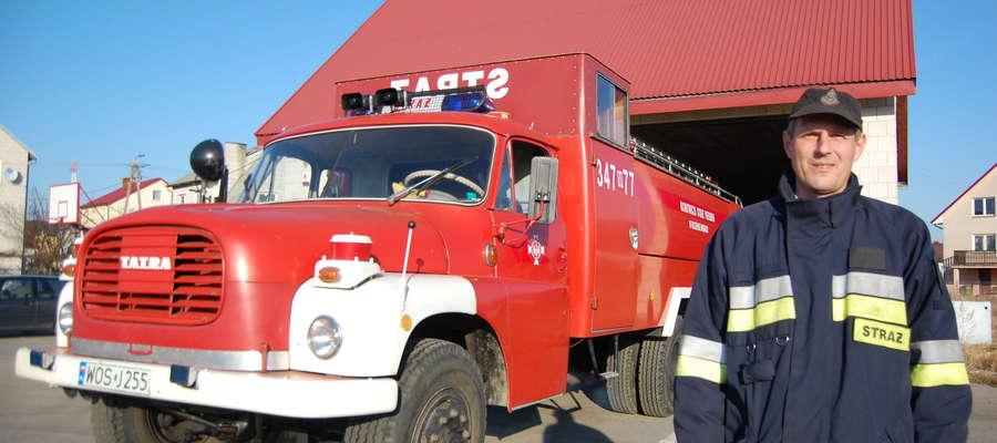 Strażacy liczą, że jeszcze w tym roku uda się zakupić nowy wóz.