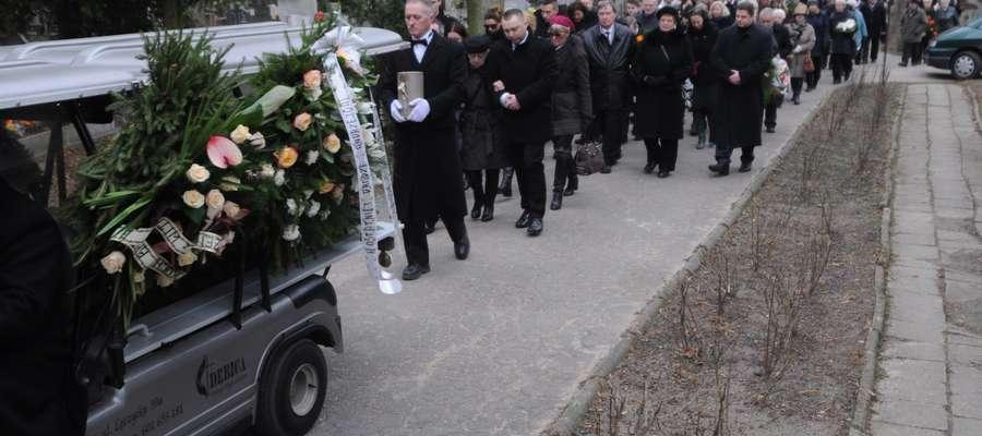 Andrzej Minkiewicz spoczął na cmentarzu przy ul. Agrykola