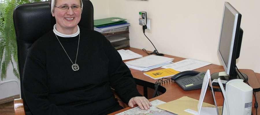 Siostra Aneta Olechnowicz - S.M. Bartłomieja, dyrektor Domu Pomocy Społecznej w Bisztynku została wybrana Przełożona Prowincjalną Zgromadzenia Sióstr św. Katarzyny w Braniewie.