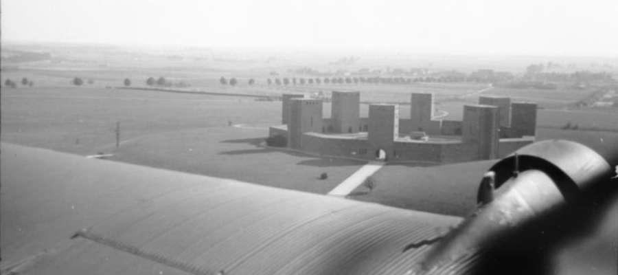 Tak wyglądało mauzoleum Hindenburga jeszcze w czasie II WŚ