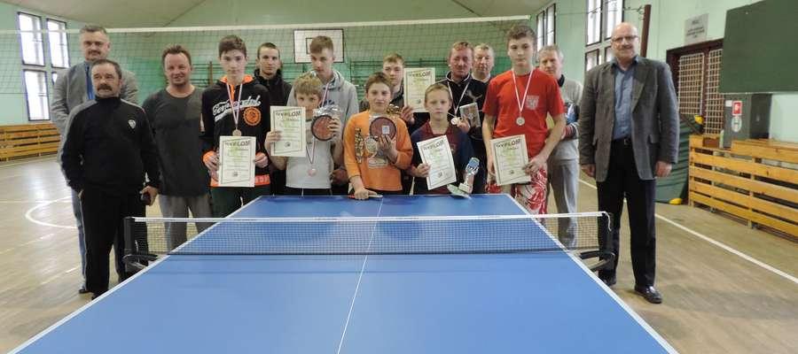 Mistrzostwa Gminy Sorkwity w Tenisie Stołowym