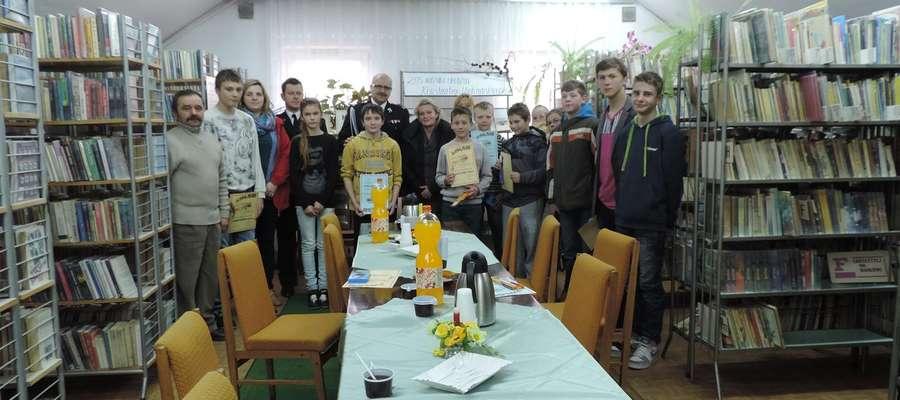 gminny etap turnieju wiedzy pożarniczej w Sorkwitach