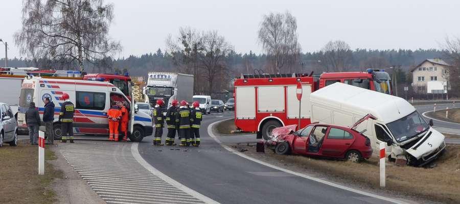 Kolejny wypadek na obwodnicy Ostródy
