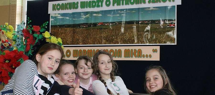 Uczniowie szkoły podstawowej w Bisztynku brali udział w zmaganiach konkursowych na temat ich patrona, czyli Ziemi Warmińskiej.