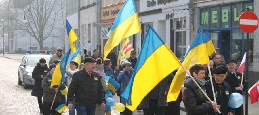 Marsz solidarności z Ukrainą