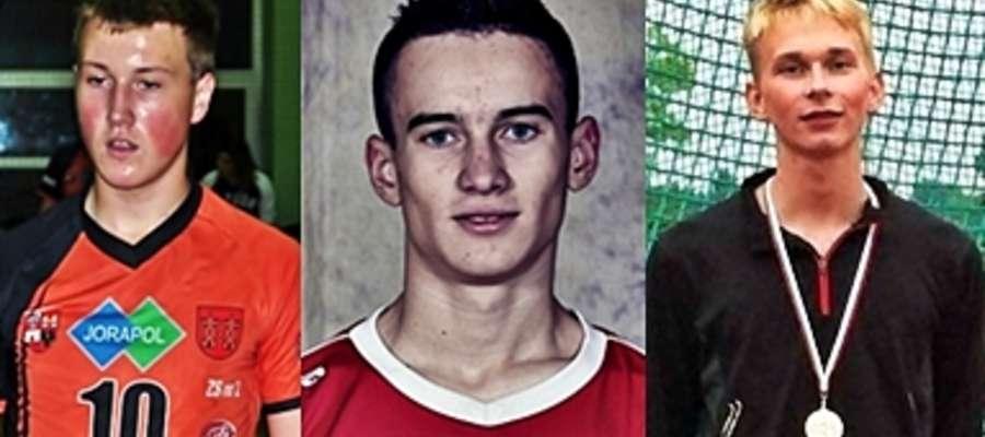 Na tę chwilę tak wygląda pierwsza trójka: Od lewej: Kuchciński (UKS Rutki Płońsk), Gołaszewski (PAF Płońsk) i Syski (MKS Durasan Płońsk)