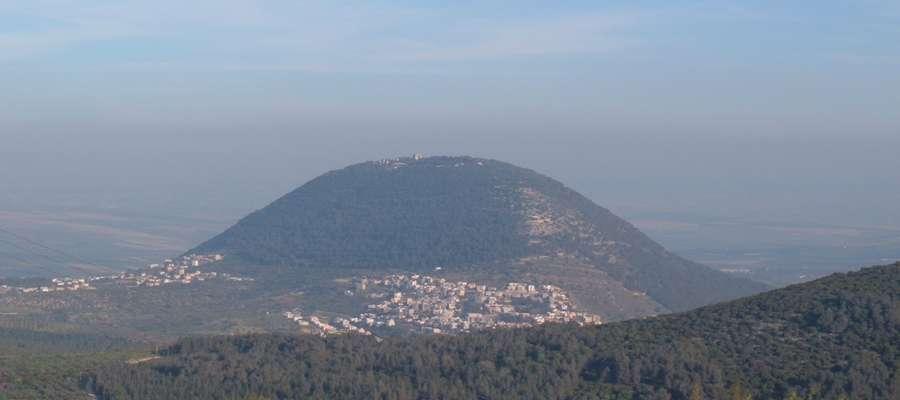 Widok na górę Tabor