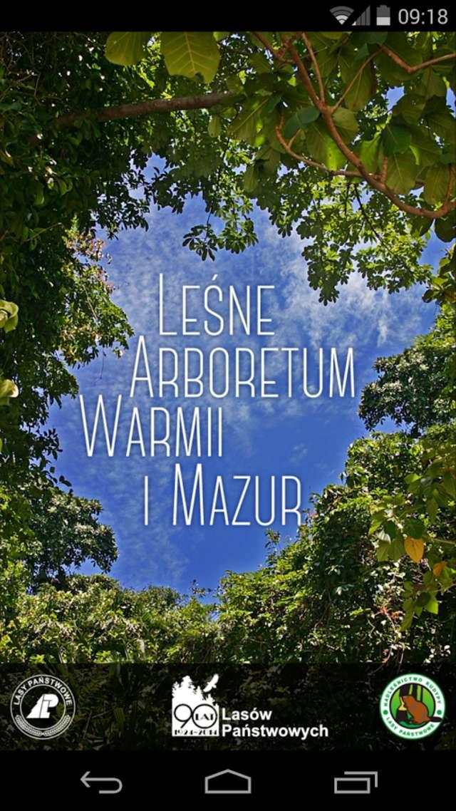 Kudypy: z Androidem do Arboretum - full image