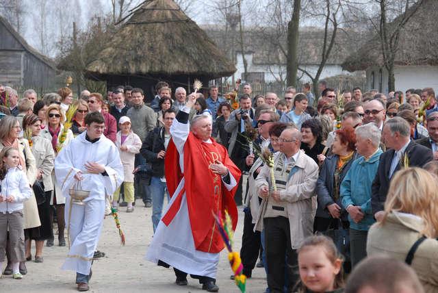 Niedziela Palmowa w skansenie - zaproszenie - full image