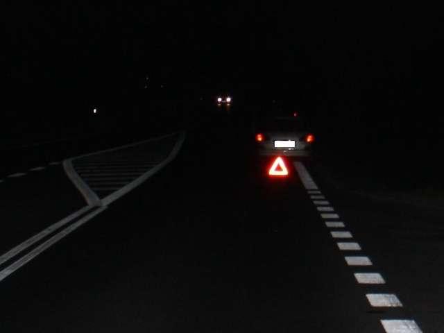Kierowca toyoty śmiertelnie potrącił pieszego - full image