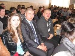 Reprezentanci ZS CKR w Lubiejewie