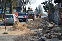 Zaawansowanie prac przy budowie kanalizacji przekroczyło już 40