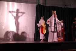 Misterium Męki Pańskiej zostało wystawione w Ostródzie 12 i 13 kwietnia.