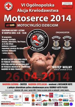 Pod naszym patronatem: Motoserce 2014