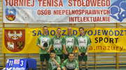 V Wojewódzki Turniej Tenisa Stołowego Osób Niepełnosprawnych Intelektualnie w Lidzbarku Warmińskim