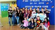 Deutsch Wagen Tour w Zespole Szkół Samorządowych w Ełku