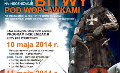 Bitwa pod Wopławkami - inscenizacja