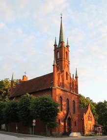 Kościół ewangelicki z pastorówką