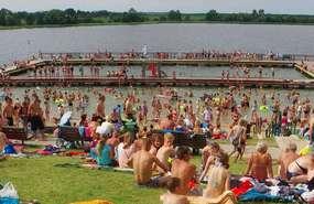 Kąpielisko miejskie nad jeziorem Wielochowskim