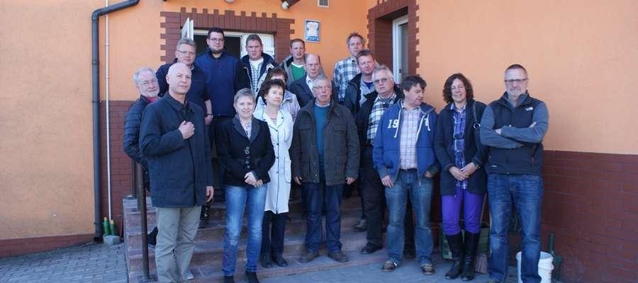 W dniach od 3 do 6 kwietnia Pieniężno gościło piętnastoosobową delegację z partnerskiego miasta Lichtenau z Niemiec