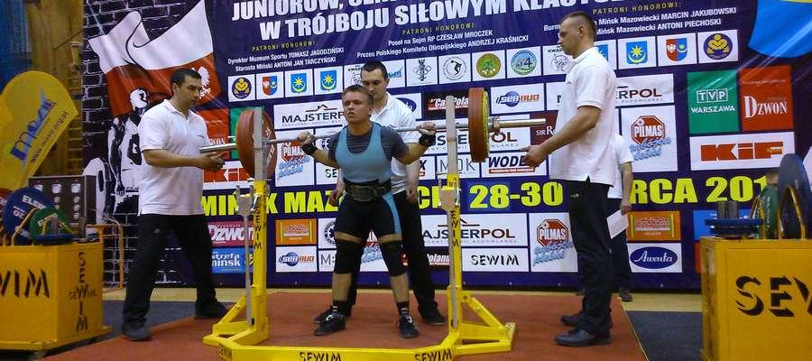 Mariusz Grotkowski pobił rekord Polski
