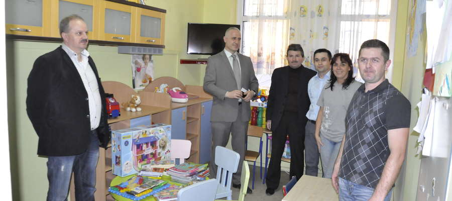 Dary dla oddziału dziecięcego przekazane