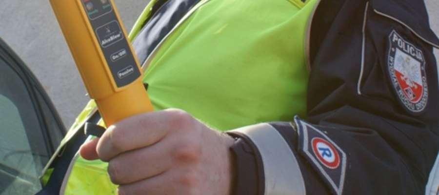 Pijany kierowca miał prawie cztery promile alkoholu