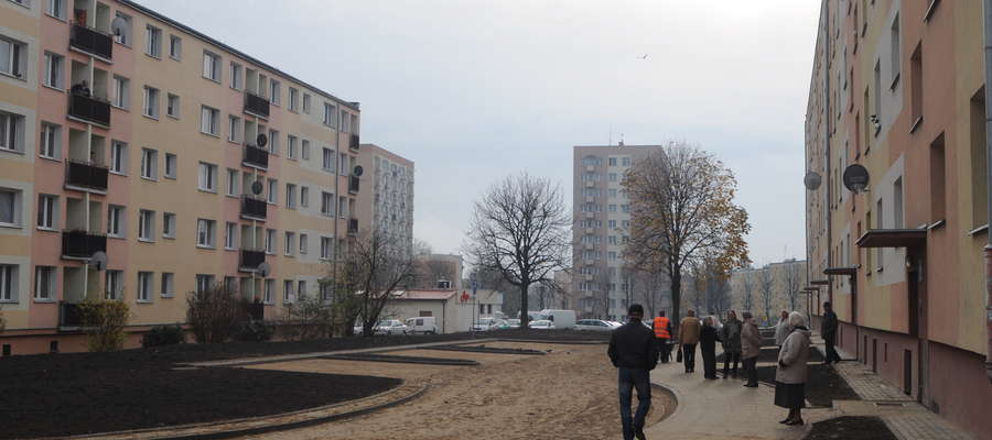 10 miejsc postojowych przy ulicy Bażyńskiego to jedna z inwestycji, która powstała w ramach ubiegłorocznego budżetu obywatelskiego