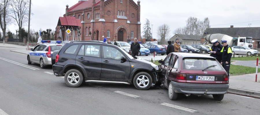 Byliśmy na miejscu zdarzenia tuż po wypadku. Właśnie odjeżdżała karetka pogotowia ratunkowego