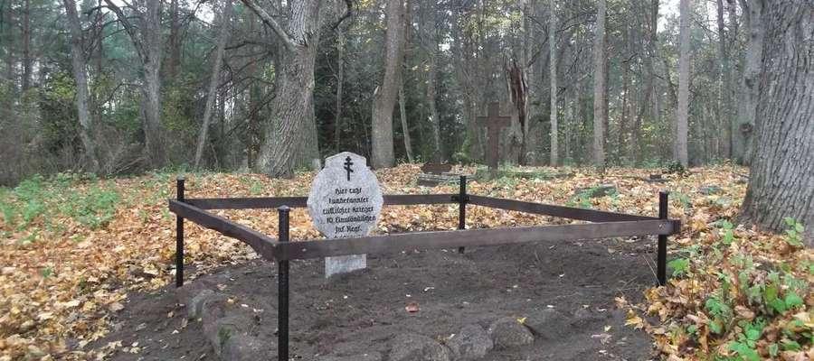 Tak wyglądały groby jeszcze kilka lat temu (źródło: Olsztyńska Strona Rowerowa http://www.rowery.olsztyn.pl)