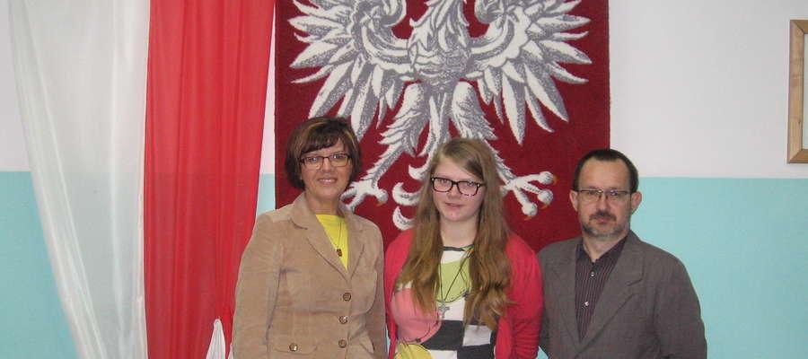 Kinga Rynkowska została dwukrotną laureatką olimpiad