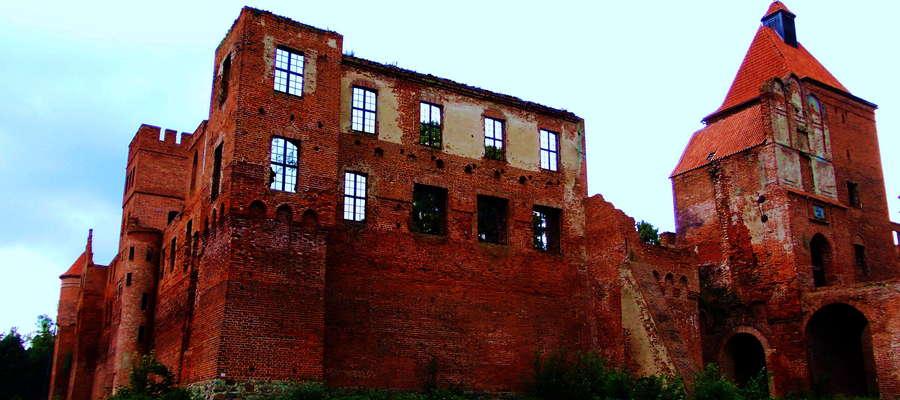Ruiny warowni w Szymbarku