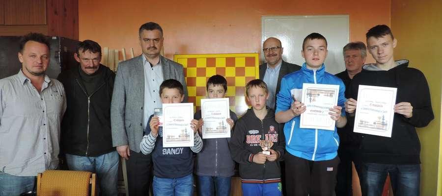 Uczestnicy Turnieju Szachowego w Sorkwitach