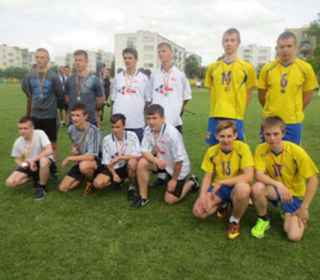 Mistrzostwa młodzieży szkół powiatu w lekkiej atletyce - full image