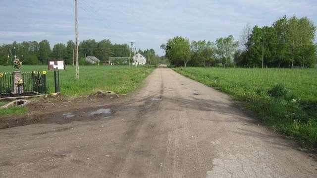To właśnie ta droga została poddana przebudowie  - full image
