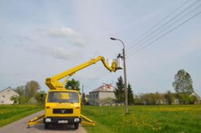 Andrzejewo. Nowe oświetlenie na 5 kilometrach - full image