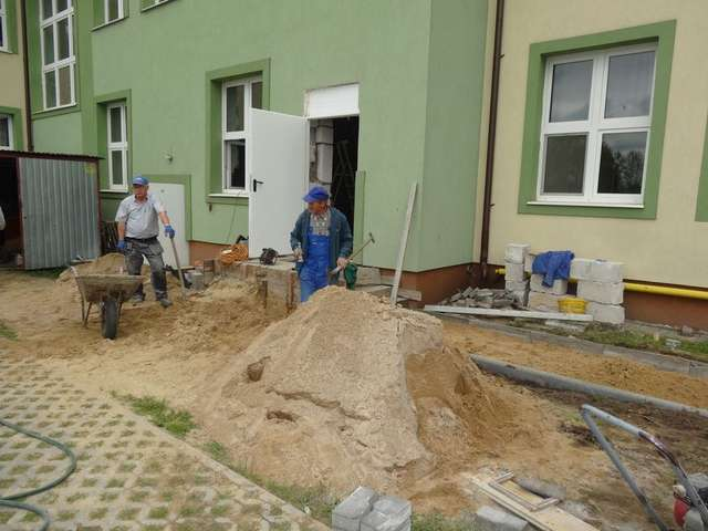 Remonty świetlic w gminie Wąsewo trwają  - full image