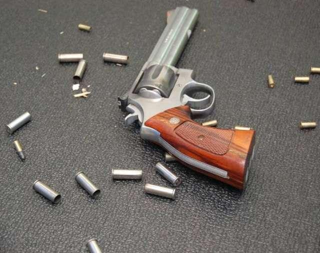 Miał broń i amunicję, nie miał pozwolenia - full image