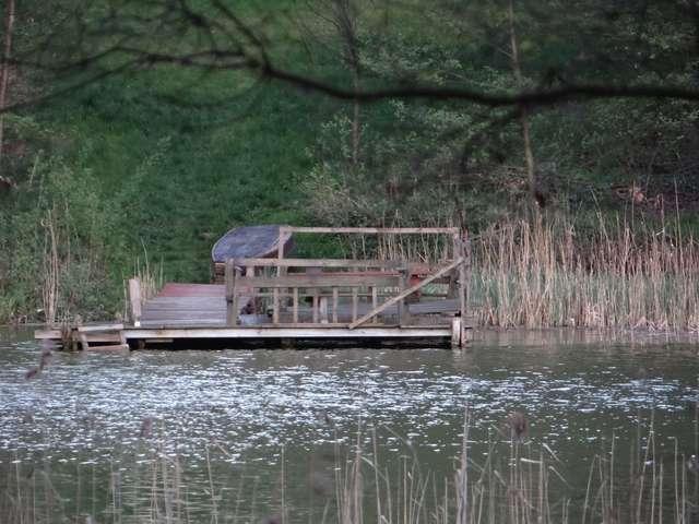 Na brzegu można znaleźć stanowiska dla wędkarzy - full image