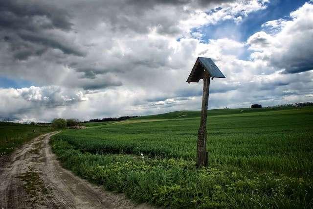 Warmiany: Krzyż snycerza Pana Boga - full image