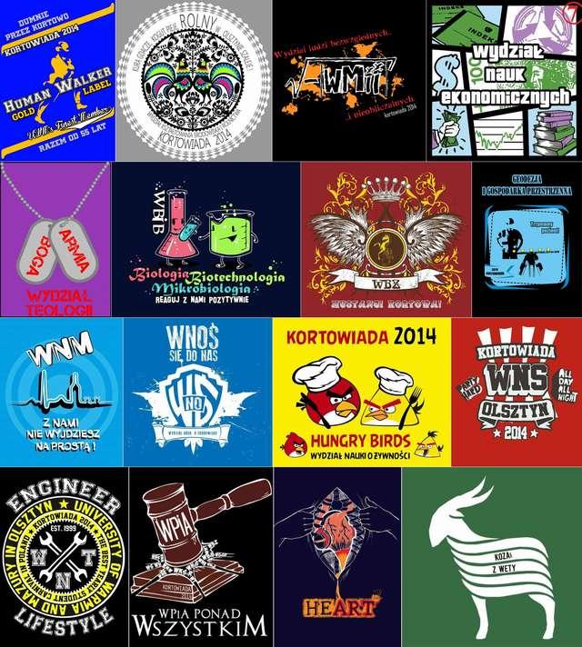 Kortowiada 2014: Koszulki wydziałowe. Która najlepsza? - full image