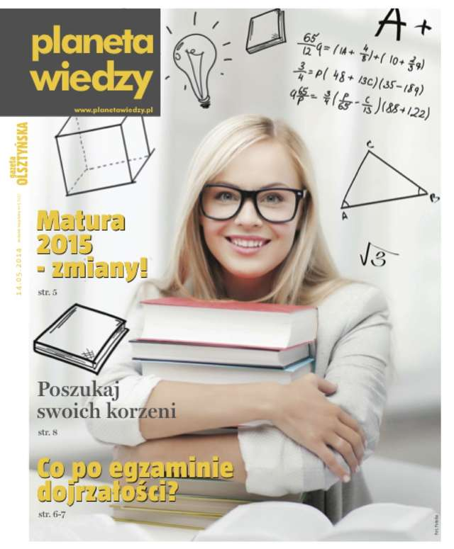 Majowy numer miesięcznika Planeta Wiedzy! - full image