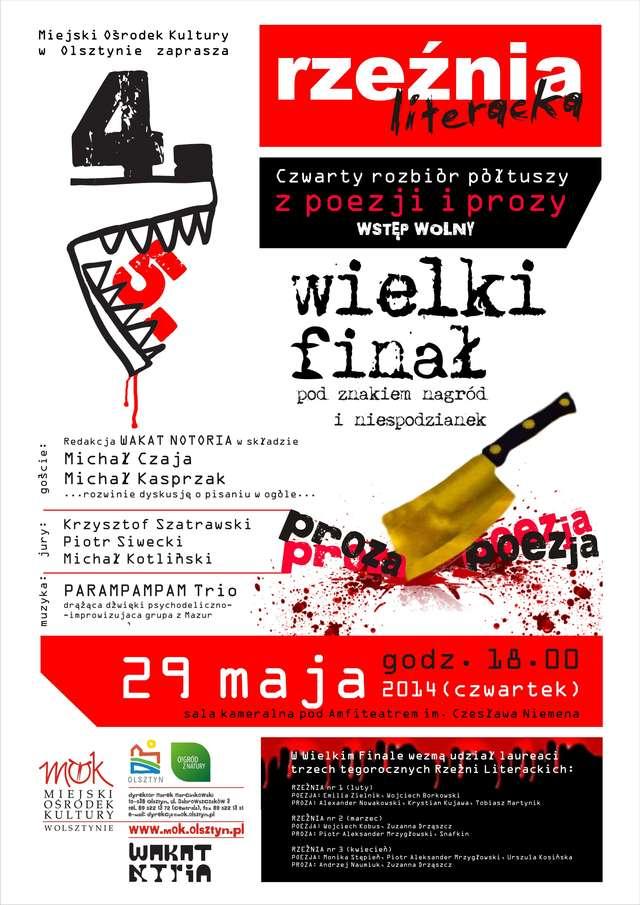 Wielki Finał Rzeźni Literackiej! - full image