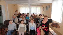 Na rozstrzygnięciu konkursu pojawili się uczestnicy wraz z opiekunami