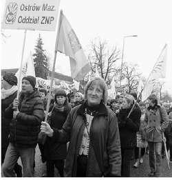 Maria Morawska od lat stoi na czele ZNP w Ostrowi