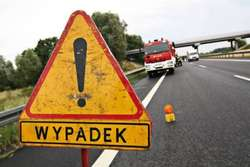 Tragiczny wypadek - 19-latek zginął na miejscu
