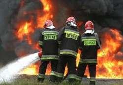 Zuzela. Pożar stodoły - ogień przyniósł 20 tys. zł strat