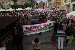 Olsztyński Marsz dla Życia i Rodziny w 2012 roku