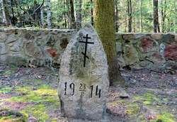 Cmentarz w Orłowie. Grób żołnierzy rosyjskich